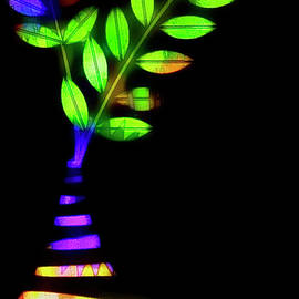 Hippy Dippy Leaves by Rene Crystal