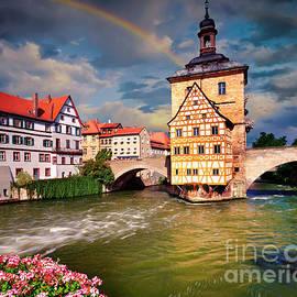 Historic Bamberg by Edmund Nagele