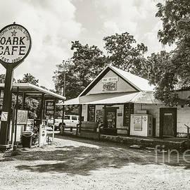 Historic Oark Cafe - sepia by Scott Pellegrin