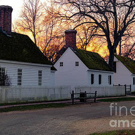 Historic Sunset Glow by Norma Brandsberg