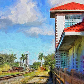 Historic Train Depot  by HH Photography of Florida