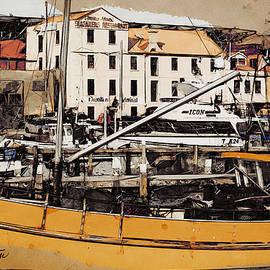 Hobart Docks by Chris Armytage