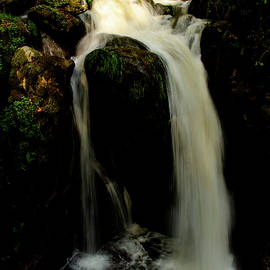 Hoellbach Waterfall, Black Forest, 6. May 2021 by Imi Koetz