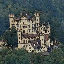 Hohenschwangau Castle by Zinvolle Art