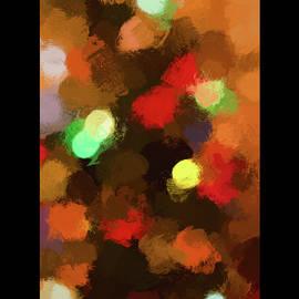 Holiday Tree Lights Card by Francis Sullivan