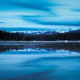 Holland Lake December Twilight 2 by Matt Hammerstein