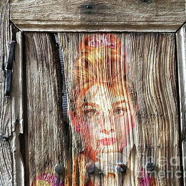 Hollywood antique door by Louise Lavallee