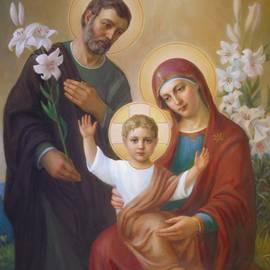 Holy Family by Svitozar Nenyuk