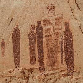 Holy Ghost Pictograph Panel by NaturesPix