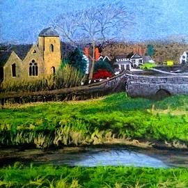 Holyrood church Mordiford by Trevor Whetstone