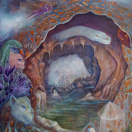 Homage at Animal Cave by Irene Vincent