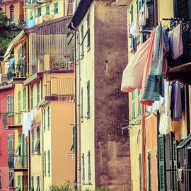 Homes of Cinque Terre by Alexey Stiop