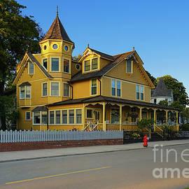 Homes of Mackinac Island 3 by Jane Tomlin