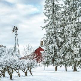 Honken Farm in Winter by Trey Foerster