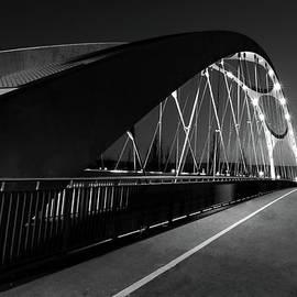Honnsell Bridge in Black and White by Norma Brandsberg