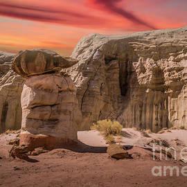 Hoodoo Sunset by Mitch Shindelbower