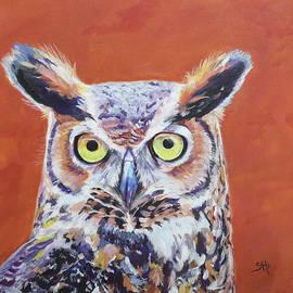 Hoot Owl by Sandy Herrault