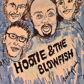 Hootie And The Blowfish by Geraldine Myszenski