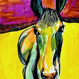 Horse Pop Painting by Patty Donoghue