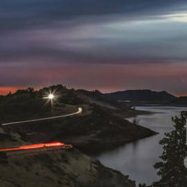 Horsetooth Light Trails  by Christopher Thomas