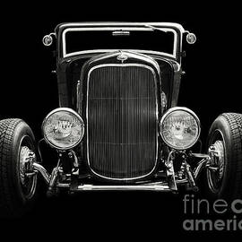 Hot Rod Coupe Monochrome by Anthony Ellis