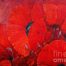 Hot Summer Poppies by Amalia Suruceanu
