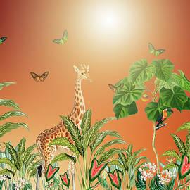 Hot Sunny Day In The Magical Jungle by Johanna Hurmerinta
