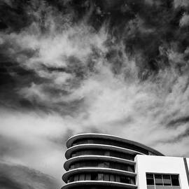 Hotel and Clouds by Dave Bowman