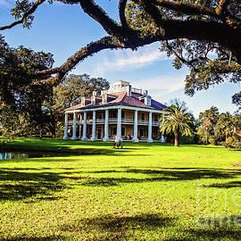 Houmas House Under the Oaks - color by Scott Pellegrin