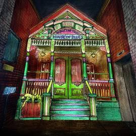 House of Blues by Valeriya Hodackovskaya
