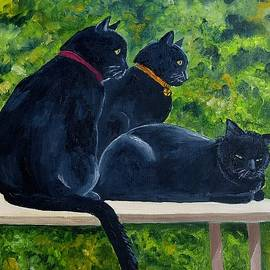 House Panthers by Julie Brugh Riffey
