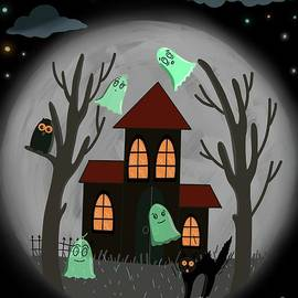 House with the ghosts by Arzu Abbas