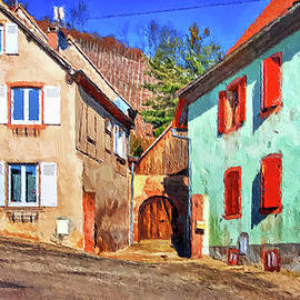 Houses of Alsace France by Tatiana Travelways