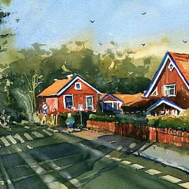 Houses of Neringa by Dora Hathazi Mendes