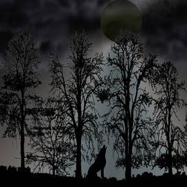 Howl At The Moon by David Dehner