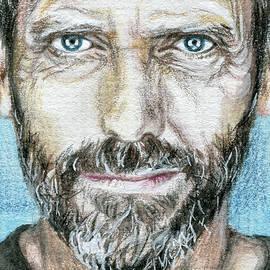Hugh Laurie by Lyudmila Romanova