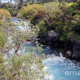 Huka Falls, Taupo, New Zealand #2  by Elaine Teague