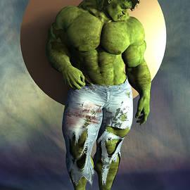 Hulk, hipster number forty-two by Joaquin Abella
