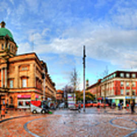 Hull City Queen Victoria Square Panorama by Paul Thompson