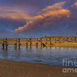 Humboldt Bay Low Tide by Mitch Shindelbower