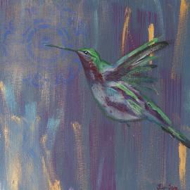 Hummingbird 1 by Jennifer Long