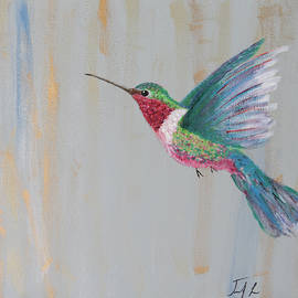 Hummingbird 3 by Jennifer Long