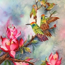 Hummingbirds by Hilda Vandergriff