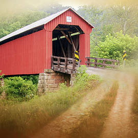 Hune Covered Bridge by Phyllis Taylor