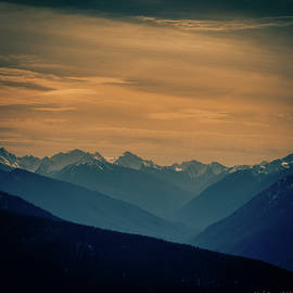 Hurricane ridge winter 3 by Mike Penney