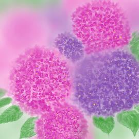 Hydrangea Beauty by Nishma Creations