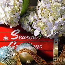 Hydrangea Seasonal Box by Diana Mary Sharpton