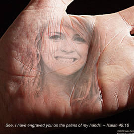 I Have Engraved You by Vicki Zimmerly Carson
