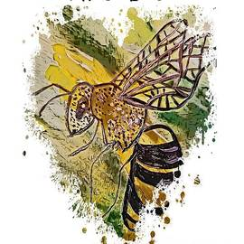 I Heart Bees by Eloise Schneider Mote