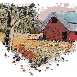 I Heart Country Barns and Flowers by Eloise Schneider Mote